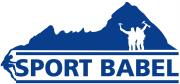 Logo Footer blau
